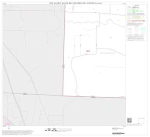 Primary view of object titled '1990 Census County Block Map (Recreated): Denton County, Block 49'.