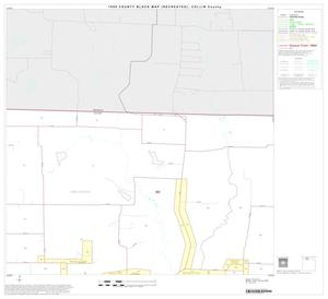 Primary view of object titled '1990 Census County Block Map (Recreated): Collin County, Block 3'.