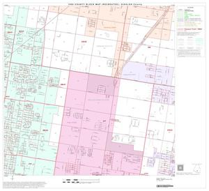 Primary view of object titled '1990 Census County Block Map (Recreated): Hidalgo County, Block 69'.