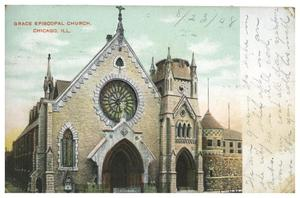Primary view of object titled 'Grace Episcopal Church, Chicago, Ill.'.