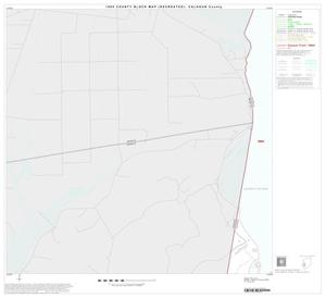 Primary view of object titled '1990 Census County Block Map (Recreated): Calhoun County, Block 13'.