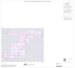 Primary view of object titled '1990 Census County Block Map (Recreated): El Paso County, Inset A01'.