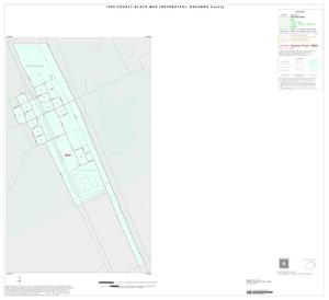 Primary view of object titled '1990 Census County Block Map (Recreated): Navarro County, Inset A01'.