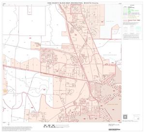 Primary view of object titled '1990 Census County Block Map (Recreated): Wichita County, Block 21'.