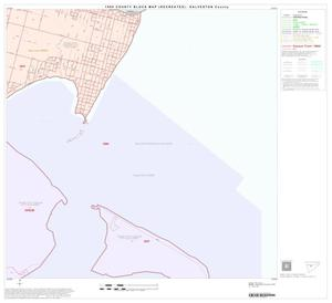 Primary view of object titled '1990 Census County Block Map (Recreated): Galveston County, Block 18'.