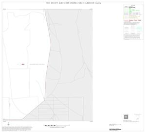 Primary view of object titled '1990 Census County Block Map (Recreated): Culberson County, Inset A12'.