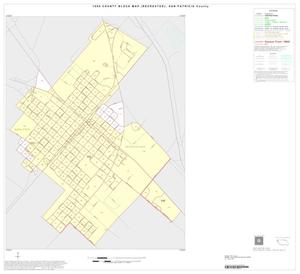 Primary view of object titled '1990 Census County Block Map (Recreated): San Patricio County, Inset B01'.