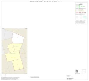 Primary view of object titled '1990 Census County Block Map (Recreated): Ector County, Inset C01'.