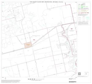 Primary view of object titled '1990 Census County Block Map (Recreated): Mitchell County, Block 6'.