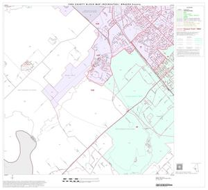 Primary view of object titled '1990 Census County Block Map (Recreated): Brazos County, Block 18'.