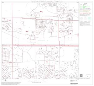 Primary view of object titled '1990 Census County Block Map (Recreated): Harris County, Block 129'.