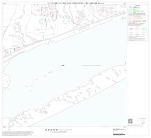 Primary view of object titled '1990 Census County Block Map (Recreated): Matagorda County, Block 22'.
