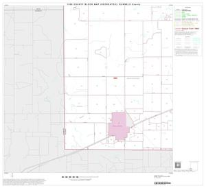 Primary view of object titled '1990 Census County Block Map (Recreated): Runnels County, Block 13'.