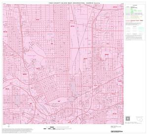 Primary view of object titled '1990 Census County Block Map (Recreated): Harris County, Block 136'.