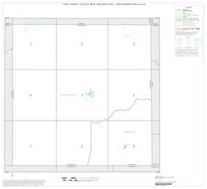 Primary view of object titled '1990 Census County Block Map (Recreated): Throckmorton County, Index'.