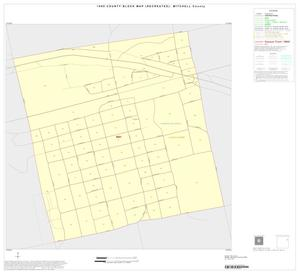 Primary view of object titled '1990 Census County Block Map (Recreated): Mitchell County, Inset A01'.