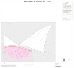 Primary view of object titled '1990 Census County Block Map (Recreated): Angelina County, Inset C01'.