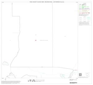 Primary view of object titled '1990 Census County Block Map (Recreated): Jefferson County, Block 43'.