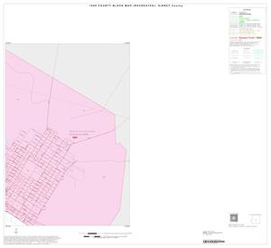 Primary view of object titled '1990 Census County Block Map (Recreated): Kinney County, Inset A02'.
