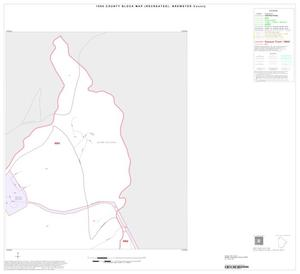 Primary view of object titled '1990 Census County Block Map (Recreated): Brewster County, Inset A03'.