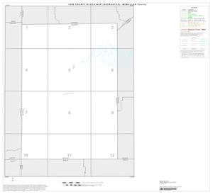 Primary view of object titled '1990 Census County Block Map (Recreated): McMullen County, Index'.