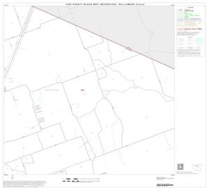 Primary view of object titled '1990 Census County Block Map (Recreated): Williamson County, Block 11'.