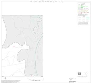 Primary view of object titled '1990 Census County Block Map (Recreated): Jackson County, Inset D02'.