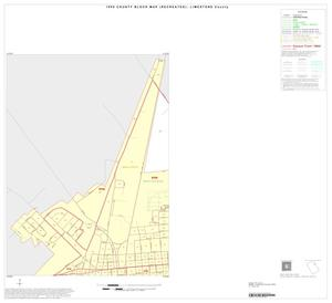 Primary view of object titled '1990 Census County Block Map (Recreated): Limestone County, Inset B01'.