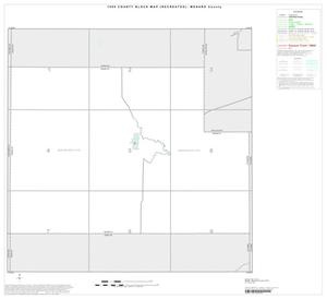 Primary view of object titled '1990 Census County Block Map (Recreated): Menard County, Index'.