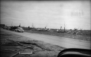 Primary view of object titled 'Debris and Vehicles After Tornado'.