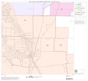 Primary view of object titled '1990 Census County Block Map (Recreated): Dallas County, Block 86'.