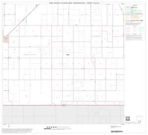 Primary view of object titled '1990 Census County Block Map (Recreated): Terry County, Block 8'.