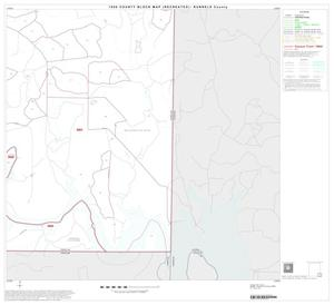 Primary view of object titled '1990 Census County Block Map (Recreated): Runnels County, Block 16'.