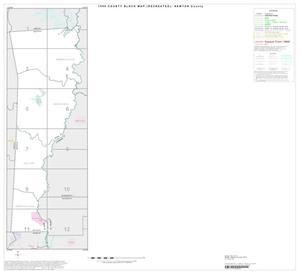 Primary view of object titled '1990 Census County Block Map (Recreated): Newton County, Index'.
