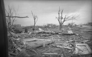 Primary view of object titled 'Debris After Tornado'.