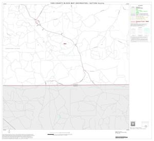 Primary view of object titled '1990 Census County Block Map (Recreated): Sutton County, Block 11'.