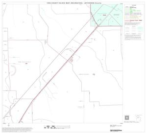 Primary view of object titled '1990 Census County Block Map (Recreated): Jefferson County, Block 20'.