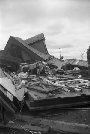 Collapsed House After Tornado
