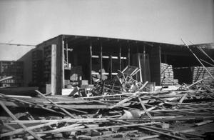 Primary view of object titled 'Building with No Walls After Tornado'.