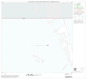 Primary view of object titled '1990 Census County Block Map (Recreated): Cameron County, Block 3'.