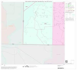 Primary view of object titled '1990 Census County Block Map (Recreated): Dallas County, Block 91'.
