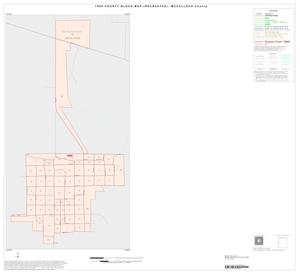 Primary view of object titled '1990 Census County Block Map (Recreated): McCulloch County, Inset A01'.