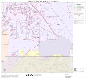 Primary view of object titled '1990 Census County Block Map (Recreated): Denton County, Block 54'.