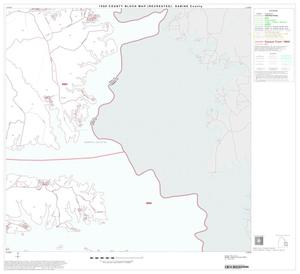 Primary view of object titled '1990 Census County Block Map (Recreated): Sabine County, Block 8'.