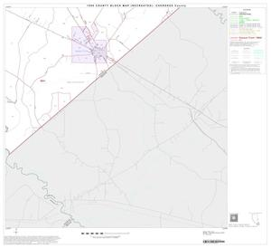 Primary view of object titled '1990 Census County Block Map (Recreated): Cherokee County, Block 21'.