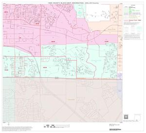 Primary view of object titled '1990 Census County Block Map (Recreated): Collin County, Block 44'.