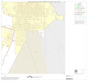 Primary view of object titled '1990 Census County Block Map (Recreated): McCulloch County, Inset B04'.
