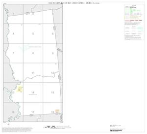 Primary view of object titled '1990 Census County Block Map (Recreated): Grimes County, Index'.