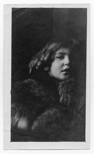 Primary view of object titled 'Young Girl in Fur'.