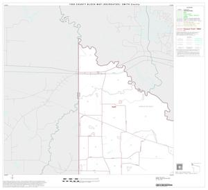 Primary view of object titled '1990 Census County Block Map (Recreated): Smith County, Block 1'.